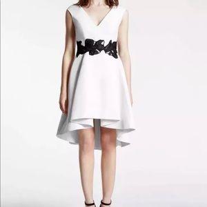 Haliston Heritage Floral Silk Faille dress size 6